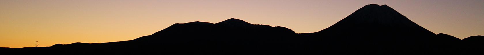 Tongariro Ngauruhoe Sunrise Cropped